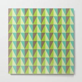 shadow of triangles Metal Print