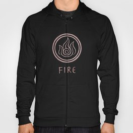 Avatar Last Airbender Elements - Fire Hoody