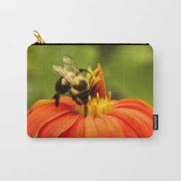 Mexican Sunflower Bumblebee Carry-All Pouch