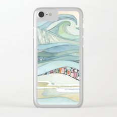 I'll Be Right Here II Clear iPhone Case