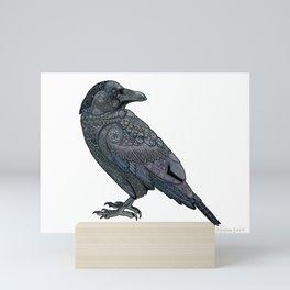 Celtic Raven Mini Art Print