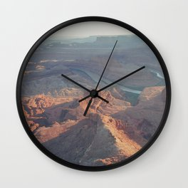 Dead Horse Point Panoramic Wall Clock