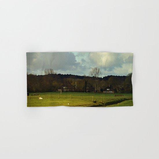 Farm view Hand & Bath Towel