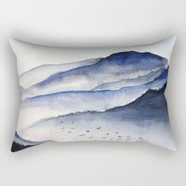 Beautiful mountains Rectangular Pillow