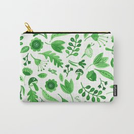 Wildwood Floral Pattern Carry-All Pouch