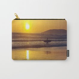 Pismo Beach Surfer in the Sunset Carry-All Pouch