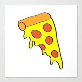 i want pizza Canvas Print