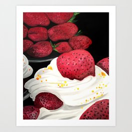 Strawberry Dream Art Print