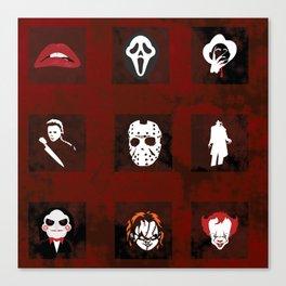 Horror Legends Canvas Print