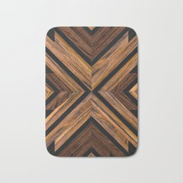 Urban Tribal Pattern 3 - Wood Bath Mat