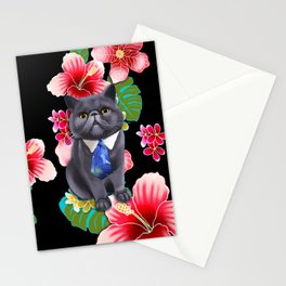 Aloha Popoki Stationery Cards