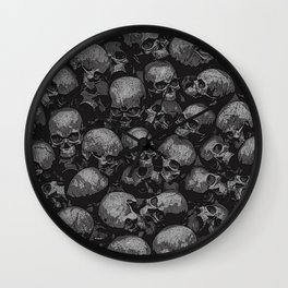 Totally Gothic Wall Clock