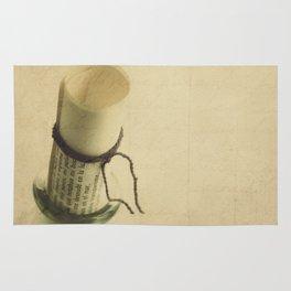 Mensaje en una botella Rug
