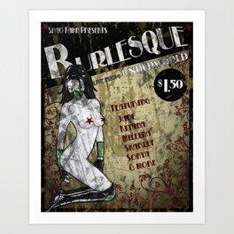 Jade Burlesque Poster Mortal Kombat Art Print