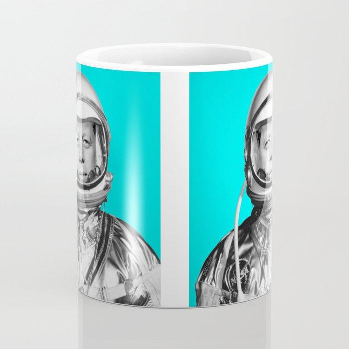 "JFK ASTRONAUT (or ""All Systems Are JFK"") Coffee Mug"
