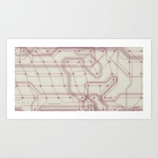 technical world Art Print