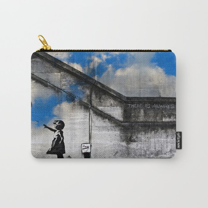 A Balloon to the Wind Carry-All Pouch