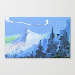 montain Canvas Print