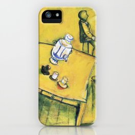Marc Chagall The Yellow Room iPhone Case