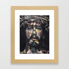 The Coronation of Thorns Framed Art Print
