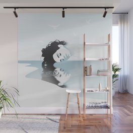 GET • HIGH • BY • THE • BE▲CH Wall Mural