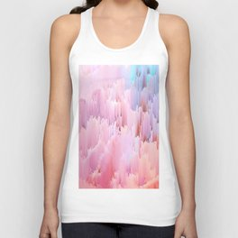 Delicate Glitches Unisex Tank Top
