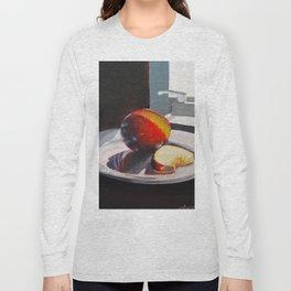 Plum in a Sunny Window Long Sleeve T-shirt