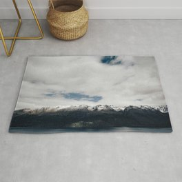 New Zealand Mountains Rug