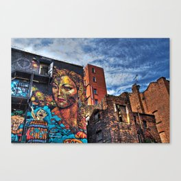 Colourful MANchester Canvas Print