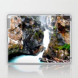 Falls Johnston Canyon Alberta Laptop & iPad Skin