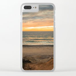 South Carlsbad State Beach Clear iPhone Case