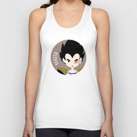 vegeta Tank Tops featuring Vegeta by gaps81