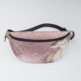 Deer in Cherry Blossom Spring Woods Fanny Pack