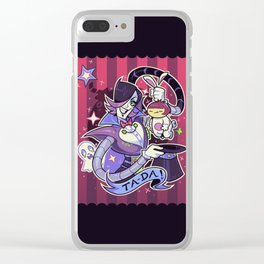Magician Mettaton Clear iPhone Case