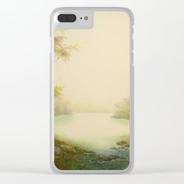 Autumn's Return Clear iPhone Case