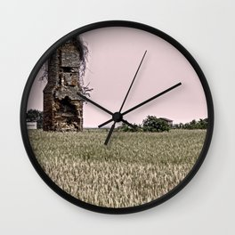A Family once Lived and Loved Here Wall Clock