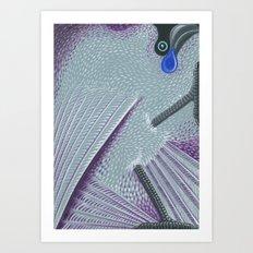 Kokako Art Print