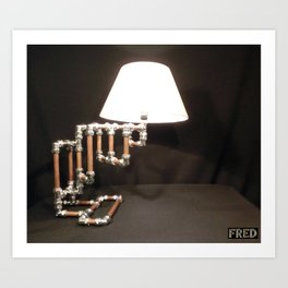 Articulated Desk Lamps - Copper and Chrome Collection - FredPereiraStudios_Page_09 Art Print