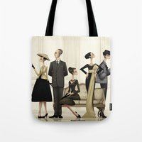 christian schloe Tote Bags featuring Christian by Matias G. Martinez