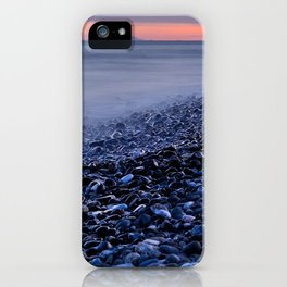 """""""Shiny rocks"""" At pink sunset. Spain, Gibraltar and Africa in one photo. iPhone Case"""