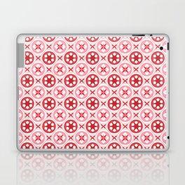 Chinoiseries Porcelain Tiles Red Laptop & iPad Skin