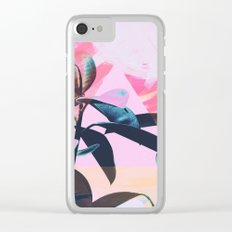 Painted Botanics Clear iPhone Case