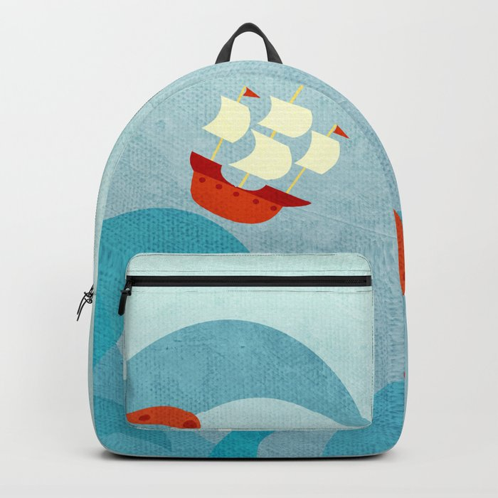 A Bad Day for Sailors Backpack