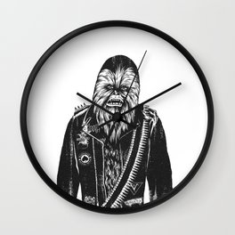 Metal Chewie Wall Clock