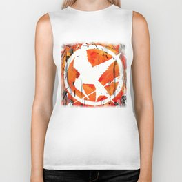 The Mockingjay Biker Tank