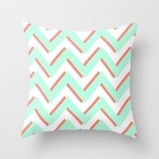 3D CHEVRON 2 Throw Pillow