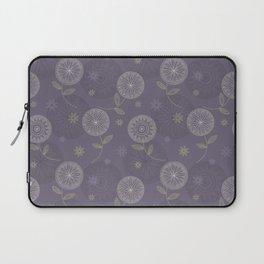 Folky Lace Flowers Laptop Sleeve