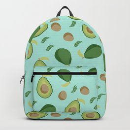 Avocado gen z fashion apparel food fight gifts Backpack