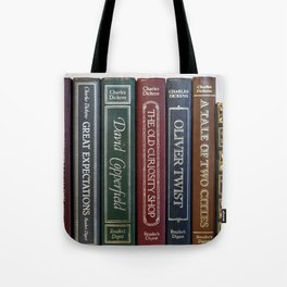 Dickens Books Tote Bag