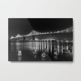 Bay Bridge View Point Metal Print